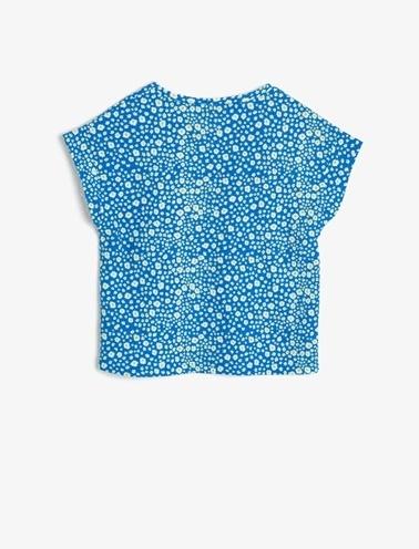 Koton Kids %95 Polyester, %5 Elastan Mavi
